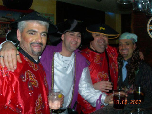 Carnaval 2007. Bar Pigor